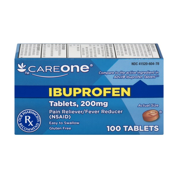 Careone Ibuprofen 100 Ct 100 0 Ct From Stop Shop Instacart