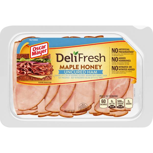1e0524746217 Oscar Mayer Deli Fresh Maple Honey Ham