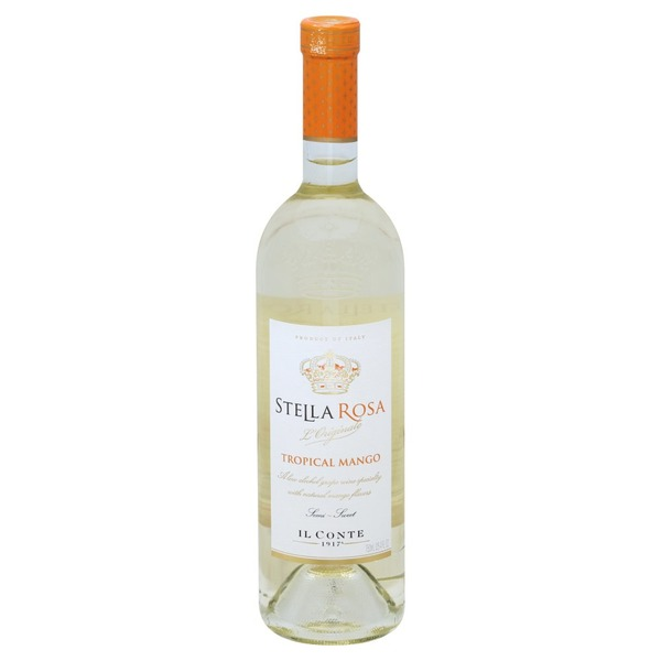 Stella Rosa Wine Tropical Mango Semi Sweet 750 Ml From Bevmo