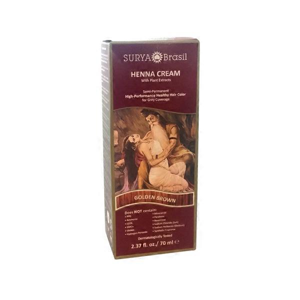 Surya Brasil Golden Brown Henna Cream From Whole Foods Market