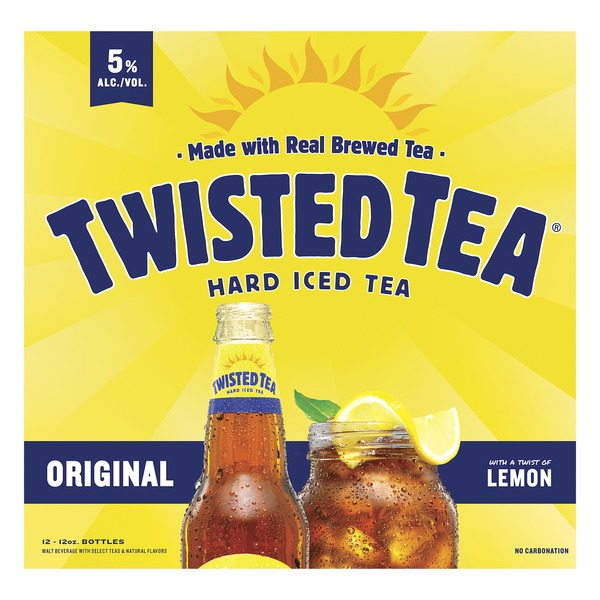 Twisted Tea Iced Tea Hard Original 12 Fl Oz Instacart