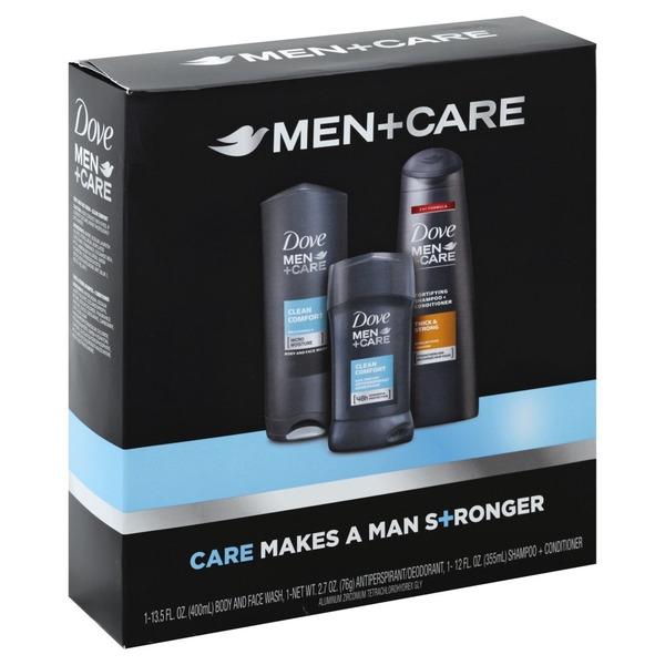 Dove Men Care 10 Gift Box Clean Comfort 1 Ct Instacart