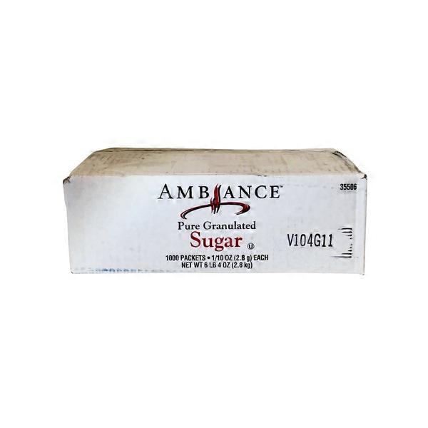 Ambiance sugar packets 1000 ct from smart final instacart - Five smart uses of sugar ...