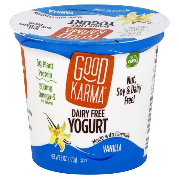 Good Karma Yogurt, Dairy Free, Vanilla