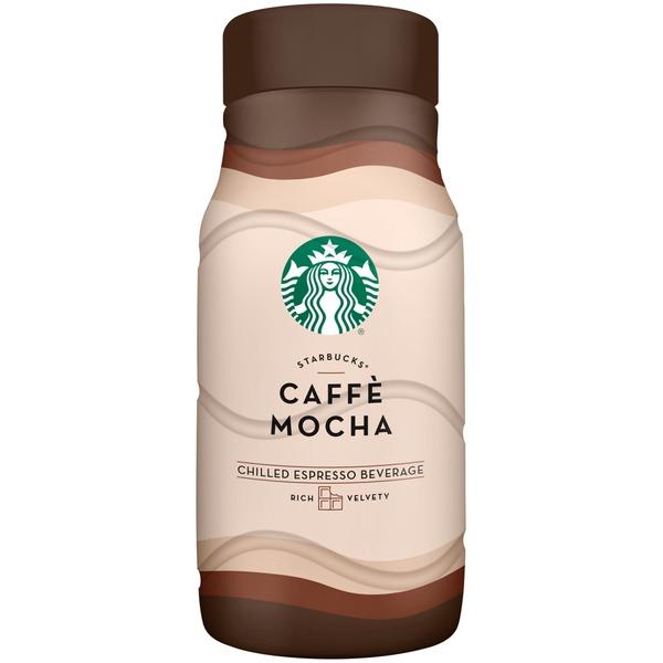 Starbucks Iced Espresso Caffè Mocha Chilled Espresso