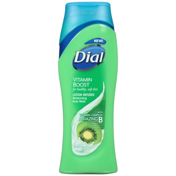 Dial Vitamin Boost Lotion Infused Moisturizing Body Wash