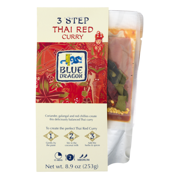24d1930e2c1d1 Blue Dragon 3 Step Thai Red Curry (8.9 oz) from ShopRite - Instacart