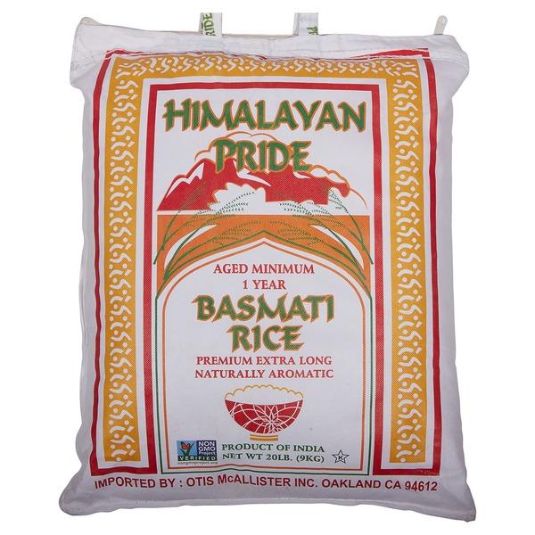 Otis Mcallister Basmati Rice Of India (20 lb) from Costco - Instacart