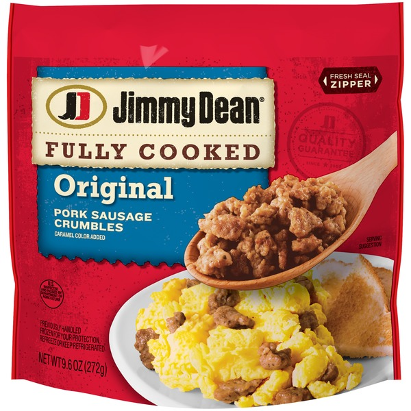 Jimmy Dean Pork Sausage Crumbles (9 6 oz) from H-E-B - Instacart