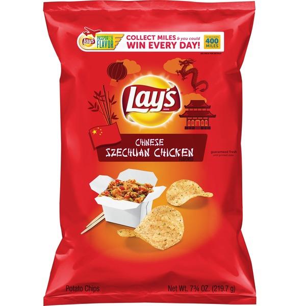 Lay'S Passport Chinese Szechuan Chicken Potato Chips from