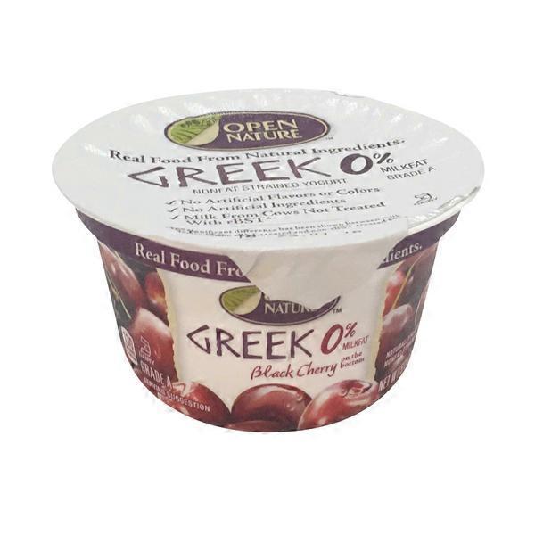 Open Nature Greek Strained Nonfat Yogurt (5 3 oz) from