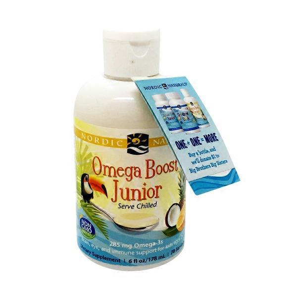 Nordic Naturals Omega Boost Junior Punch (6 oz) from Natural