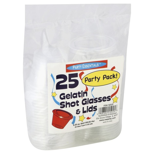 5b40e0b798cb Party Essentails 2.5 Oz Gelatin Shot Glasses from Safeway - Instacart