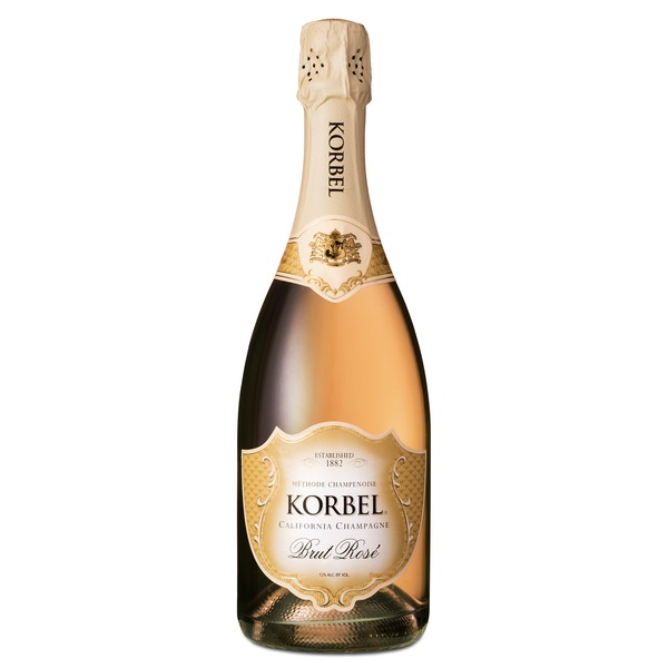 Korbel Brut Rose California Champagne
