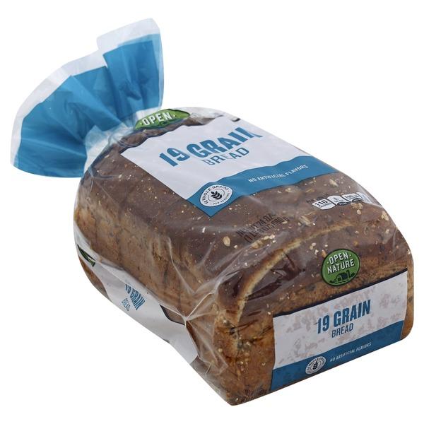 Open Nature 19 Grain Bread (24 oz) from Albertsons - Instacart