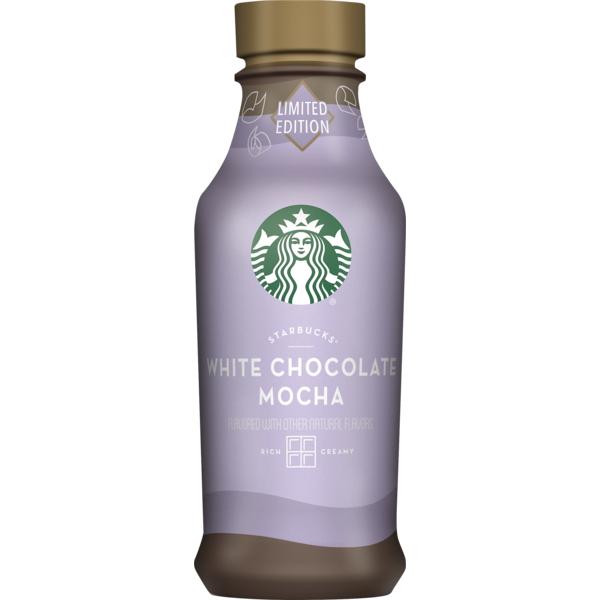 Starbucks White Chocolate Mocha Espresso Beverage 14 Fl Oz