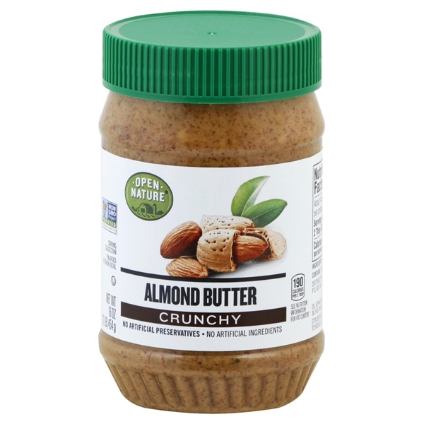 Open Nature Crunchy Almond Butter (16 oz) from Pavilions