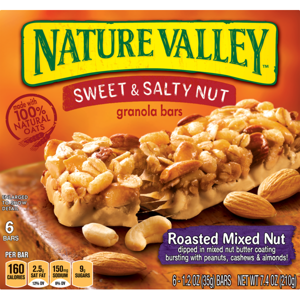 Nature Valley Sweet & Salty Nut Roasted Mixed Nut Granola