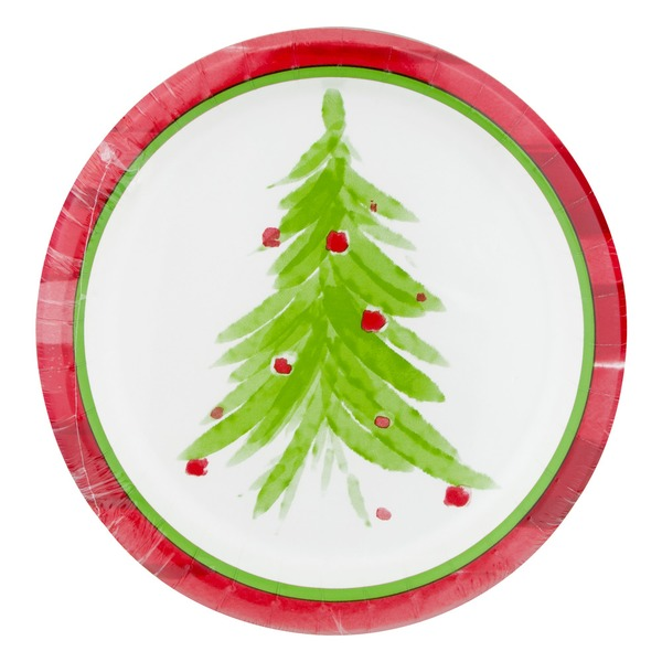 Smart Living Dinner Paper Plates Watercolor - 8 CT  sc 1 st  Instacart & Smart Living Dinner Paper Plates Watercolor - 8 CT from Stop u0026 Shop ...