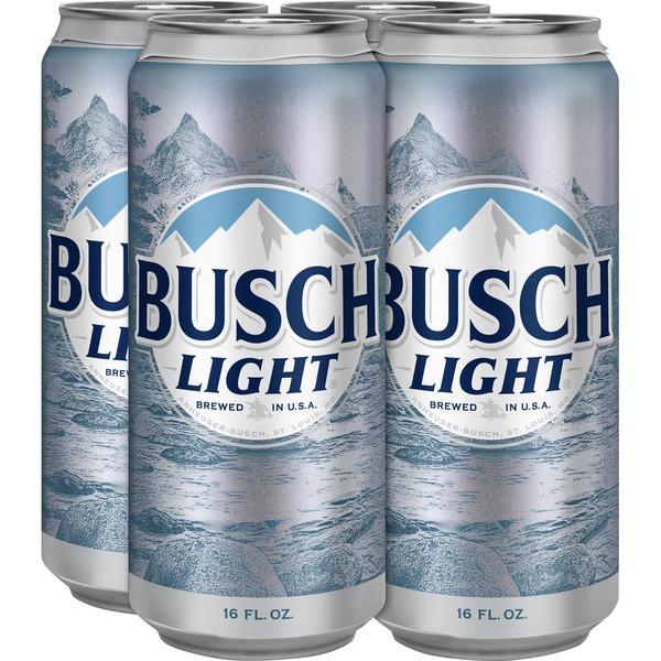 Busch Light Beer 16 Fl Oz Instacart
