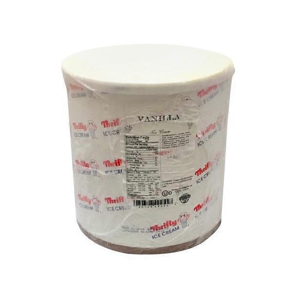 Thrifty Vanilla Ice Cream 3 Gal From Smart Final Instacart