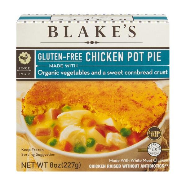Blakes Organic Gluten Free Chicken Pot Pie 8 Oz From Whole Foods