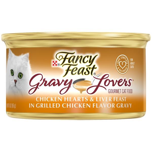 Fancy Feast Gravy Lovers Gravy Lovers Chicken Hearts Liver Feast