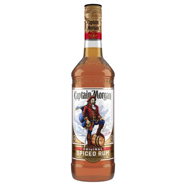 Captain Morgan Original Spiced Rum, (70 Proof)