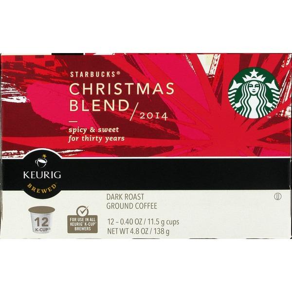 644acf2c09d Starbucks Christmas Blend Coffee Pods (12 ct) from Safeway - Instacart