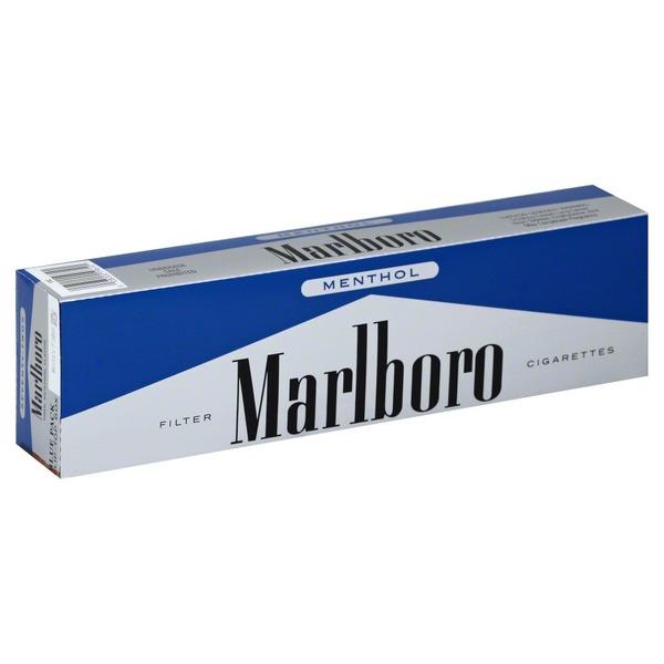 Marlboro Cigarettes Filter Blue Pack Menthol Seventy Twos Flip