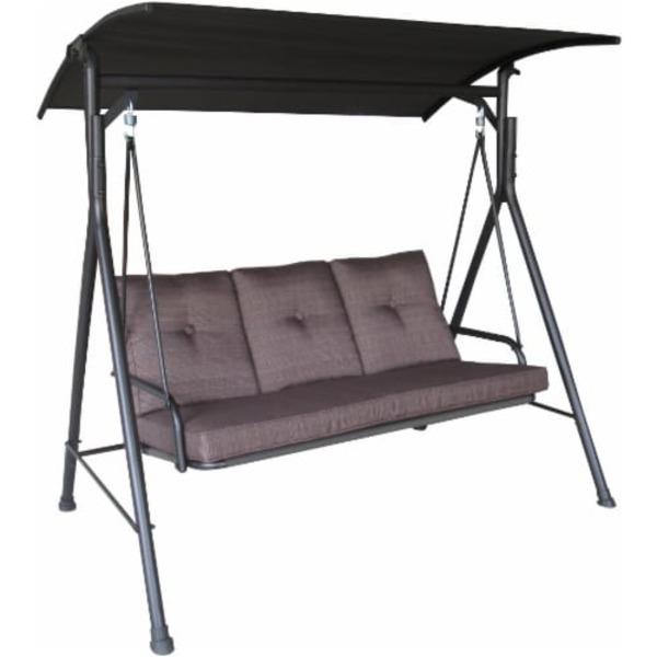 "Hd Designs Furniture: HD Designs Outdoors 68"" X 70"" Brown Monterey Three Seat"