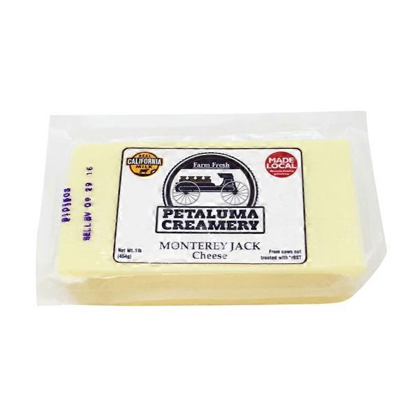 Petaluma Creamery Monterey Jack Cheese (16 oz) from Bianchini's