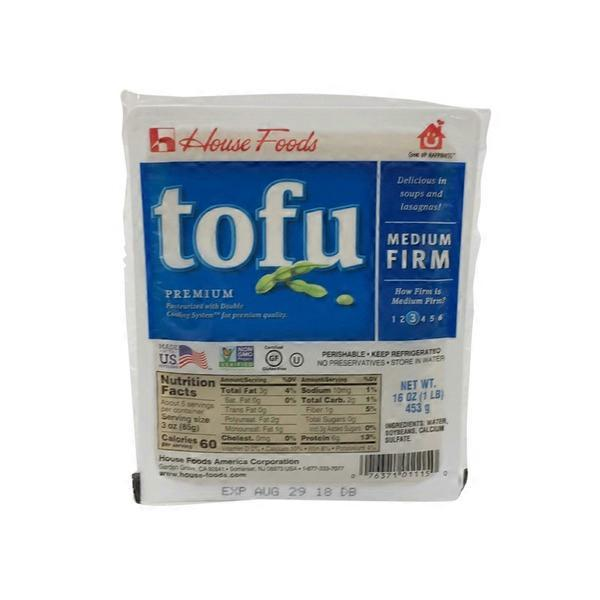 House Foods Premium Tofu Medium Firm (16 oz) from Superior