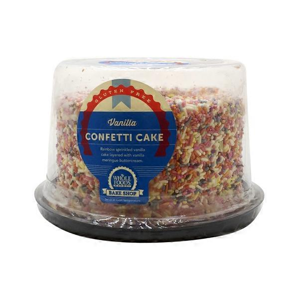 Chocolate Confetti Cake Whole Foods