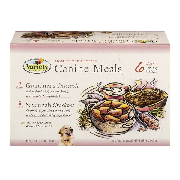 Variety Pet Foods Variety Pet Foods Canine Meals Variety Pack 6 Pk