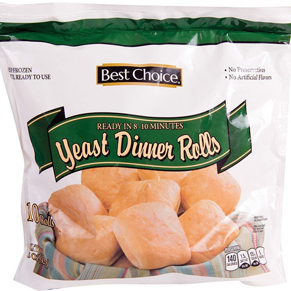 Best Choice Yeast Dinner Rolls 15 Oz Instacart