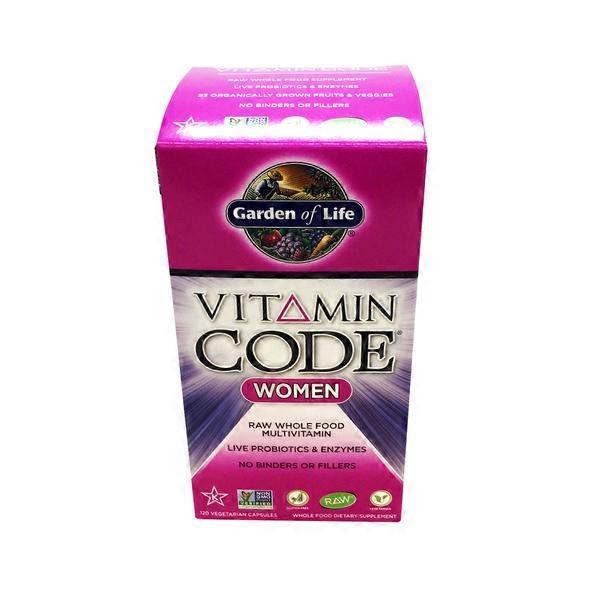 Garden Of Life Vitamin Code Women 39 S Multivitamin From Whole Foods Market Instacart