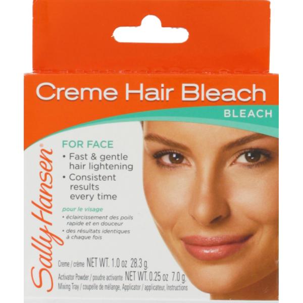 Sally Hansen Sally Hansen Creme Hair Bleach For Face 1 Oz From