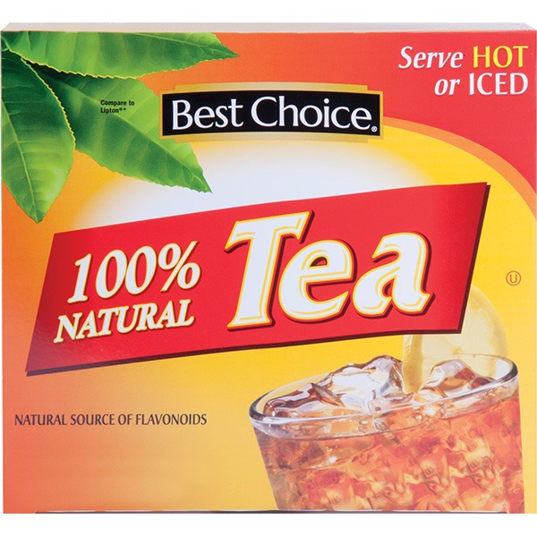Best Choice Tea Bags (100 ct) from Harps Food Store - Instacart
