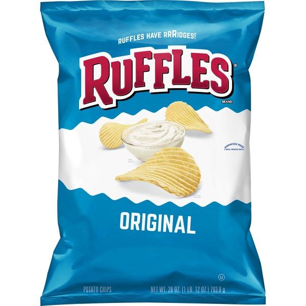 Ruffles Original Potato Chips (28 oz) from Costco - Instacart