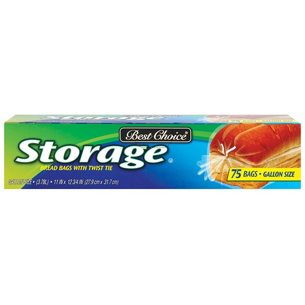 Best Choice Bread Storage Bags