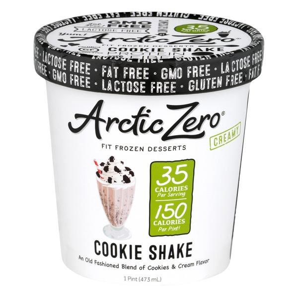 Arctic Zero Creamy Fit Frozen Desserts Cookie Shake