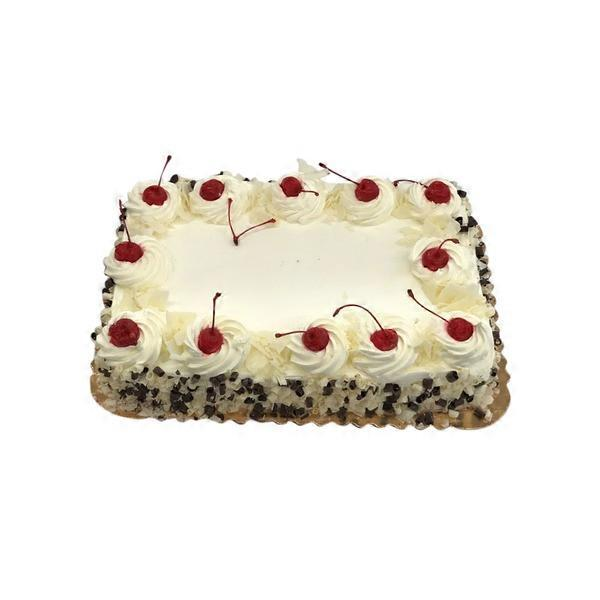 Tremendous 1 4 Sheet Black Forest Cake Each Instacart Funny Birthday Cards Online Sheoxdamsfinfo