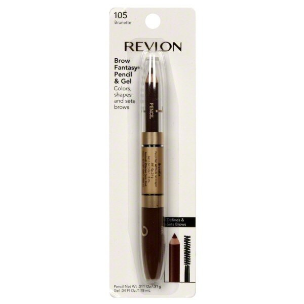f41cde46659 Revlon Brow Fantasy Pencil and Gel 105 Brunette (1.0 ct) from Stop & Shop -  Instacart
