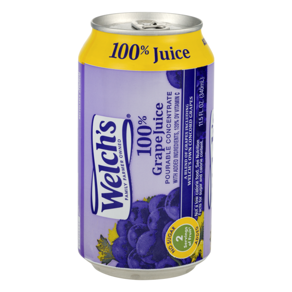 Welch's Pourable Concentrate Grape 100% Juice (11.5 fl oz) from Giant Food  - Instacart