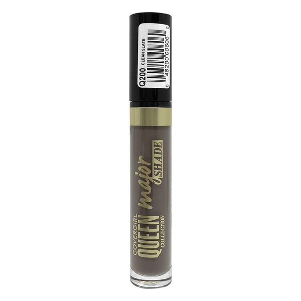 CoverGirl Queen Collection Major Shade Liquid Lipstick, Q200 Clean