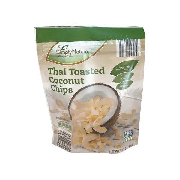Simply Nature Toasted Coconut Chips (3 17 oz) from ALDI