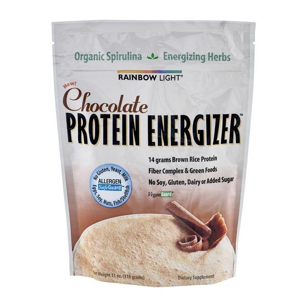 Rainbow Light Protein Engergizer Chocolate (11 oz) from