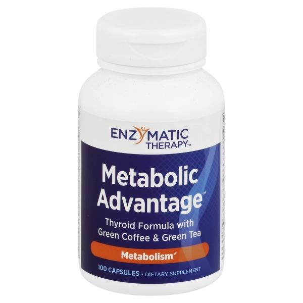 Enzymatic Therapy Metabolic Advantage Thyroid Formula - 100 CT from