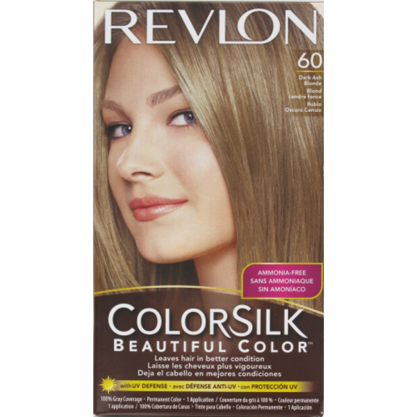 Revlon Colorsilk Hair Color Kit 60 Dark Ash Blonde From Kroger